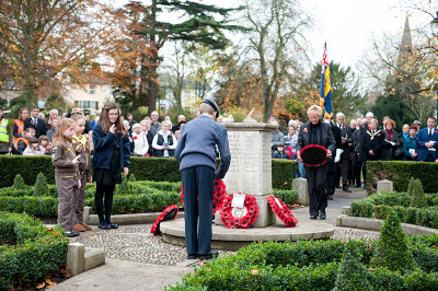 Remembrance Service & Parade Halstead Essex